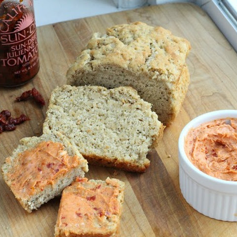 Italian Beer Bread & Sundried Tomato Butter