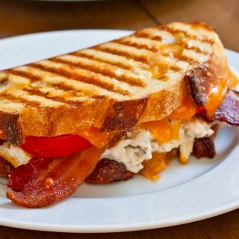 Bacon Cheddar Bagel Panini Recipes — Dishmaps