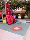 Raccoon Mural Playground