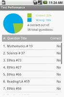 Screenshot of Praxis EE-CK Exam Prep