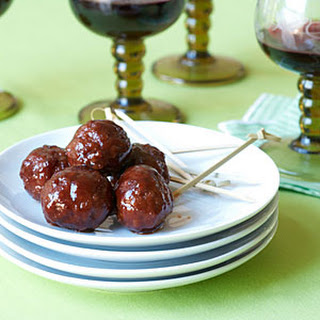 Chipotle-Barbecue Meatballs