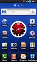 Screenshot of Red Clock Widget