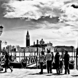 Venice by day by Verica Pavlovic - City,  Street & Park  Historic Districts