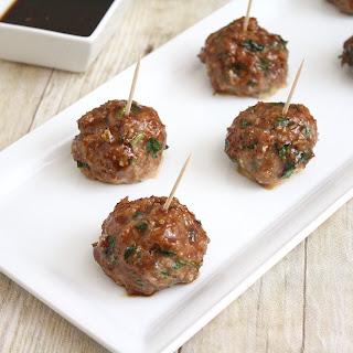 Teriyaki Turkey Meatballs Recipes