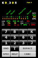 Screenshot of Rocker Poker Calculator