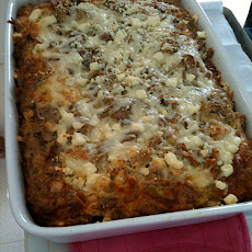 French Onion Bread Pudding