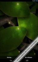 Screenshot of Tap Leaves Free Live Wallpaper