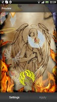 Screenshot of Angel Live Wallpaper