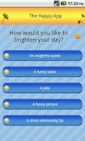Screenshot of Happy App