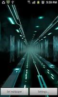 Screenshot of Glowing Neon Highway LITE