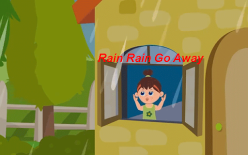 Kids Poem Rain Rain Go Away - screenshot