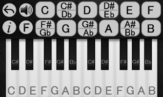 Screenshot of Learn Piano Chords