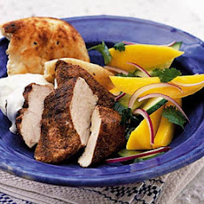Spicy Chicken With Mango Salad