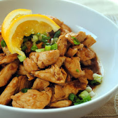 Spicy Orange-Ginger Chicken