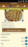 Screenshot of Pancake recipes