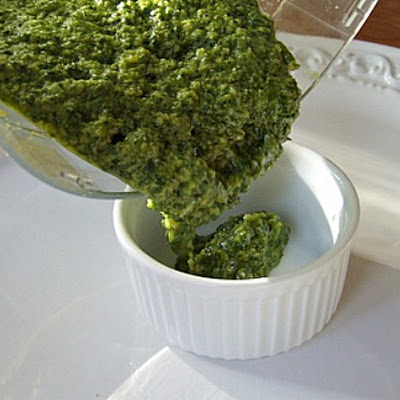 Ina Garten's Pine Nut and Walnut Pesto Sauce