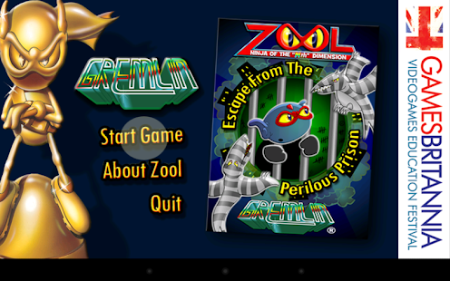 Games Britannia (Zool) - screenshot