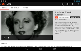 Screenshot of ARTE
