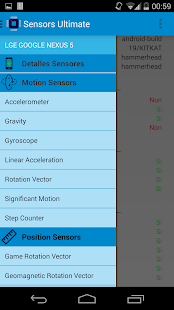 Sensors Ultimate - screenshot
