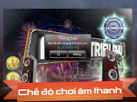 Screenshot of Triệu Phú Audio full