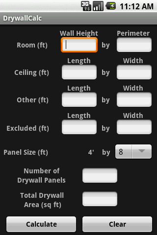 DrywallCalc