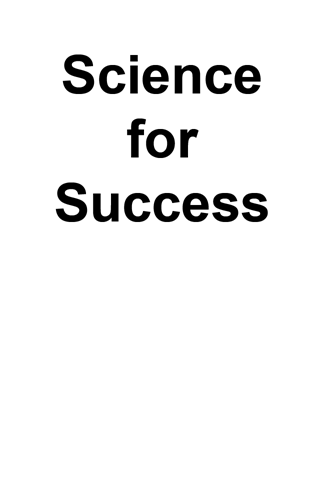 science for success 6