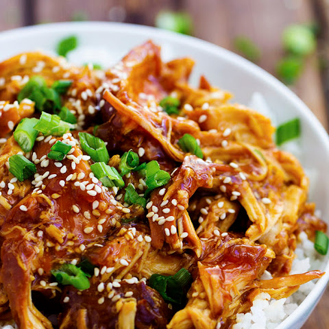 Slow Cooker Honey Teriyaki Chicken