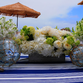 by Kevin Mummau - Novices Only Flowers & Plants ( bouquet, wedding, table top, beach, flower )