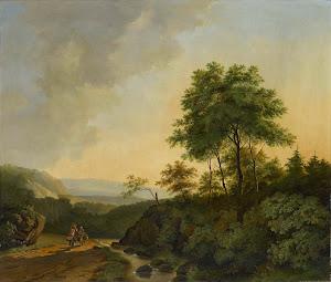 RIJKS: Cornelis François Roos: painting 1840