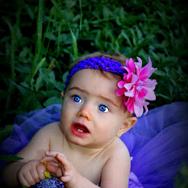Baby blue eyes by Tia Bigham - Babies & Children Babies