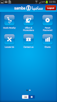 Screenshot of SambaMobile