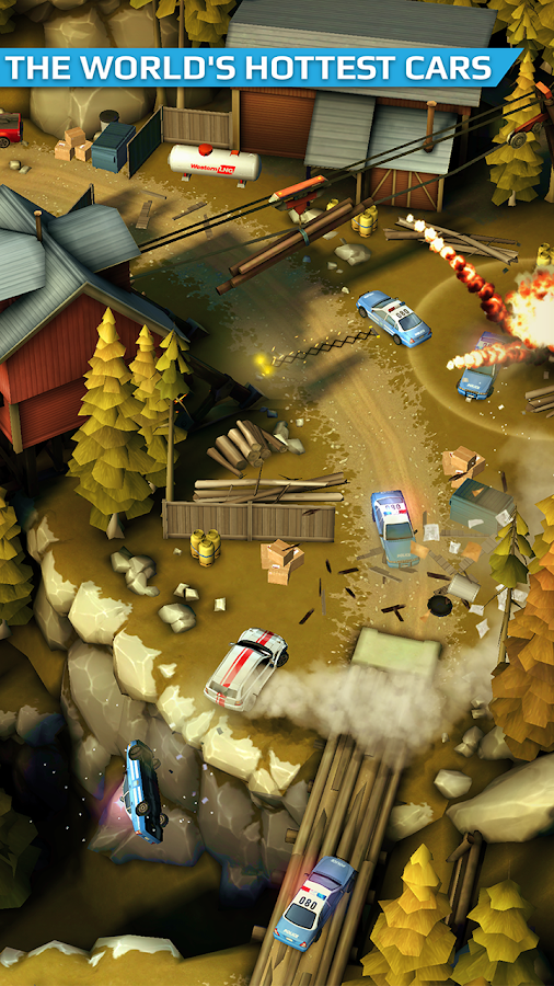 Smash Bandits Racing Screenshot 17