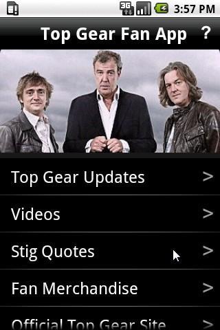 Top Gear Fan App - Unofficial