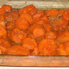 Grandma's Thanksgiving Sweet Potato Yams