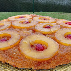 Butter Rum Pineapple Upside-Down Cake