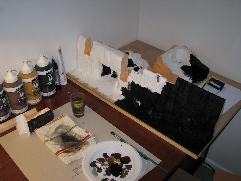Sous-couche sur ma maquette - Plan de travail complet