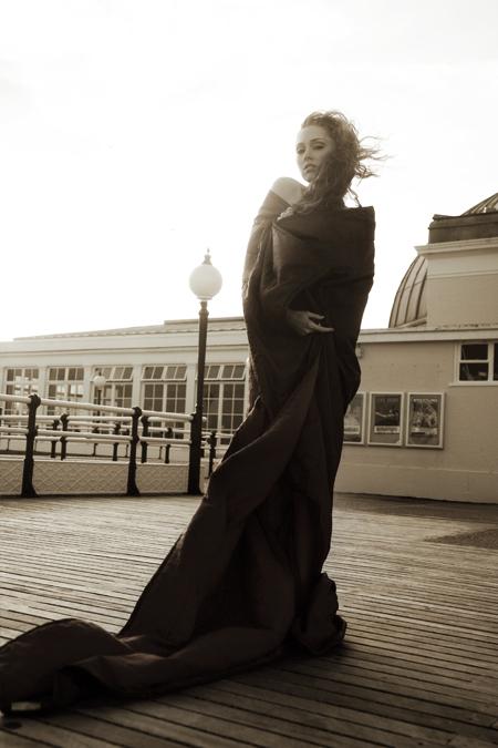 Sensualité d'une robe longue