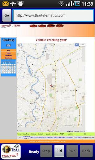 VehicleTracking Wap app.