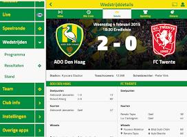 Screenshot of ADO DEN HAAG LIVE