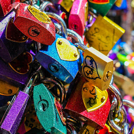 Padlock 2 by Adrien Sutter - Artistic Objects Other Objects ( colors, colorfull, italy, padlock )