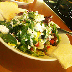 Mediterranean Salad With Feta Cheese