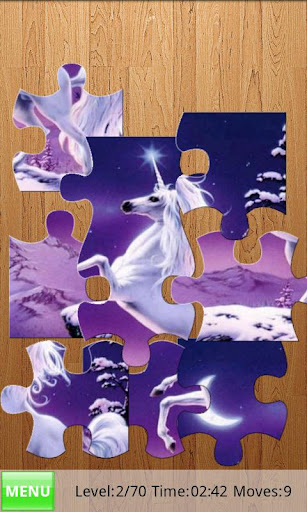 horses-jigsaw-puzzle for android screenshot