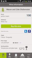 Screenshot of WineStein Smart Sommelier