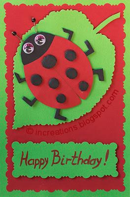Ladybug - Happy Birthday!