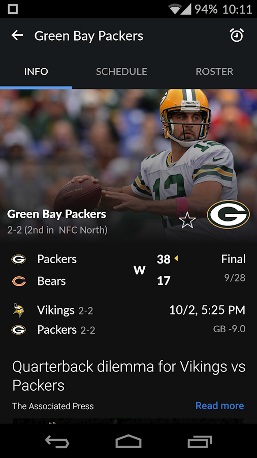Yahoo Sports Screenshot 9