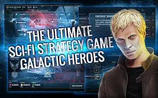 Screenshot of Galactic Heroes