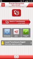 Screenshot of Foreclosures Real Estate