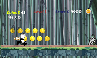 Screenshot of Kung Pou Jungle Escape