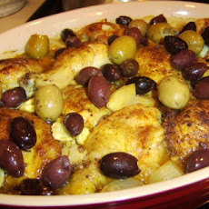 Chicken With Olives, Caramelized Onions, and Sage