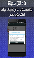 Screenshot of App Locker-App Bolt
